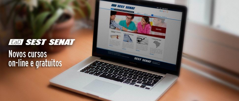 Resultado de imagem para SEST SENAT lança mais 17 cursos on-line gratuitos e atualiza outras 9 capacitações